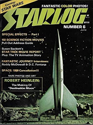 STARLOG: #6; June 1977 (Destination Moon; Fantastic Journey; Star Trek; Space 1999)