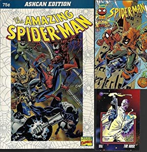 THE AMAZING SPIDER-MAN Ashcan Edition: 1994 - AND - SPIDER-MAN: TOWER OF TERROR Vol. 1, No. 1 (1997)