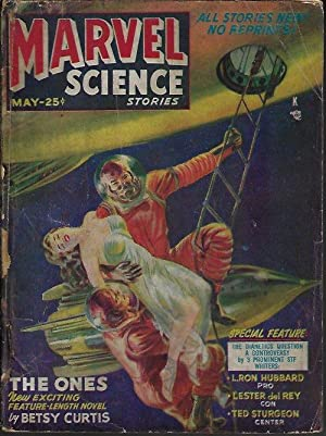 MARVEL Science Stories: May 1951: Marvel (Betsy Curtis;