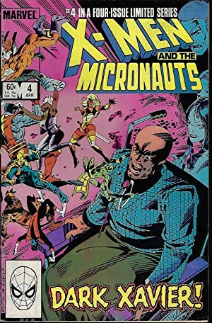 X-MEN and the MICRONAUTS: Apr #4