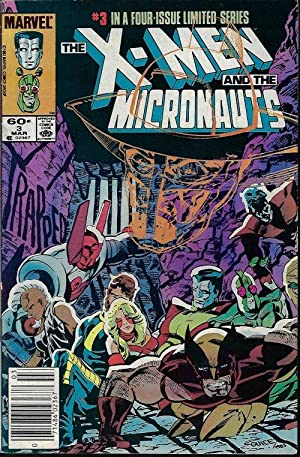 X-MEN and the MICRONAUTS: Mar #3