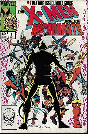 X-MEN and the MICRONAUTS: Jan #1
