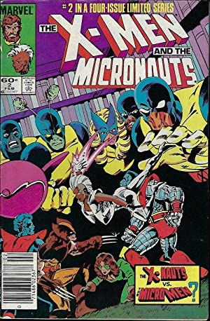 X-MEN and the MICRONAUTS: Feb #2