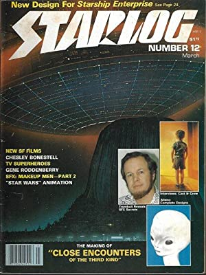 STARLOG: #12; March, Mar. 1978 (Star Trek; Sputnik; Laserblast; Starship Invasion; UFOs: Real or ...