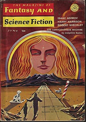 The Magazine of FANTASY AND SCIENCE FICTION: F&SF (Josephine Saxton;