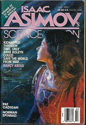 Isaac ASIMOV'S Science Fiction: July 1991: Asimov's (Nancy Kress;