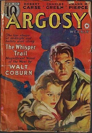 "ARGOSY Weekly: February, Feb. 10, 1940 (""Minions: Argosy (Walt Coburn;"