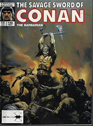 SAVAGE SWORD OF CONAN The Barbarian: May 1988, #148