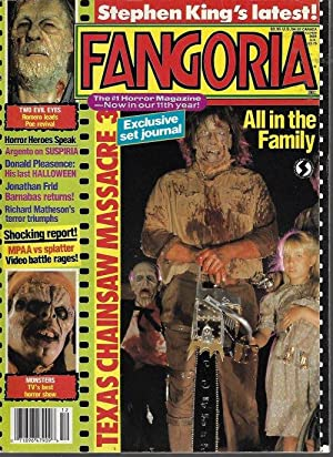 FANGORIA #89, December, Dec. 1989 (Texas Chainsaw 3; Dario Argento; Suspiria; Halloween; Jonathan...