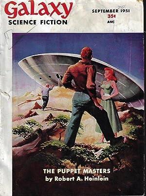 "GALAXY Science Fiction: September, Sept. 1951 (""The: Galaxy (Robert A."