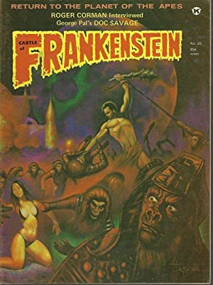 CASTLE OF FRANKENSTEIN: No. 23 (1974)