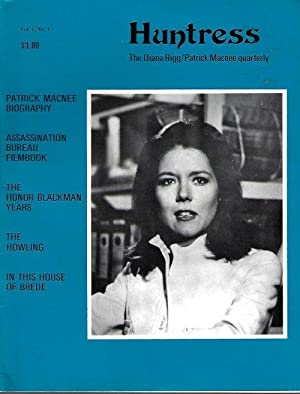HUNTRESS; The Diana Rigg/Patrcik McNee Quarterly Vol. 1, No. 1, Summer 1981