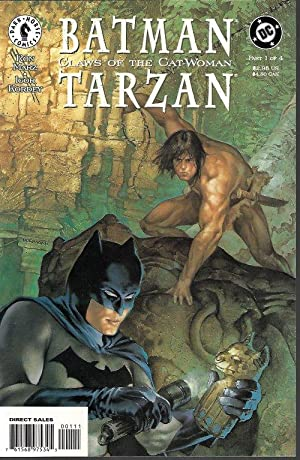 BATMAN/TARZAN: CLAWS OF THE CAT-WOMAN: 1, 2, 3, & 4 (complete Set of 4 issues)