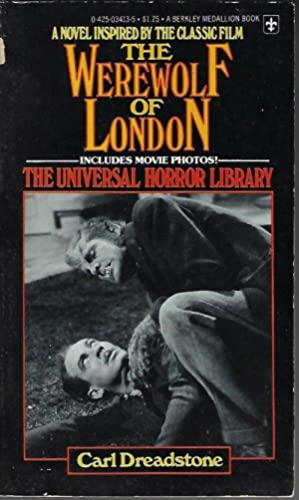 THE WEREWOLF OF LONDON: The Universal Horror Library