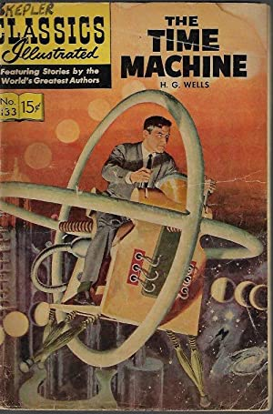 CLASSICS ILLUSTRATED #133: THE TIME MACHINE (June 1964)