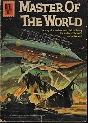 MASTER OF THE WORLD (Dell Comics No. 1157)