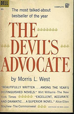 THE DEVIL'S ADVOCATE: West, Morris L.