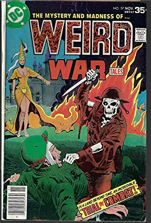 WEIRD WAR #57, Nov 1977