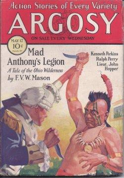 "ARGOSY: May 17, 1930 (""Voodoo'd""; ): Argosy (F. V. W. Mason; Kenneth Perkins; Fred ..."