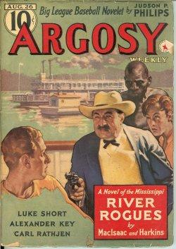 "ARGOSY: August, Aug. 26, 1939 (""The Ninth Life""): Argosy (Fred MacIsaac & C. W. Harkins; ..."