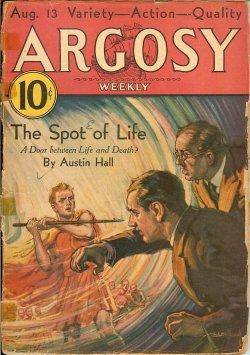 "ARGOSY Weekly: August, Aug. 13, 1932 (""The: Argosy (James L."
