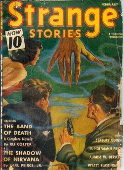 STRANGE Stories: February, Feb. 1941: Strange (Eli Colter;
