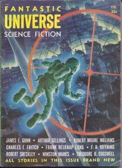 FANTASTIC UNIVERSE: February, Feb. 1955: Fantastic Universe (James