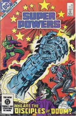 SUPER POWERS #1 (of 5), July 1984