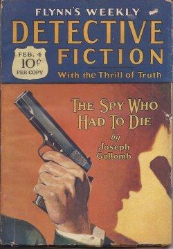 Flynn's Weekly DETECTIVE FICTION: February, Feb. 4, 1928: Flynn's Detective Fiction (Joseph ...