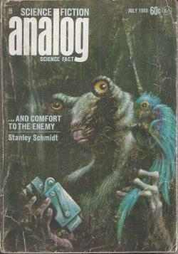 ANALOG Science Fiction/ Science Fact: July 1969: Analog (Stanley Schmidt;