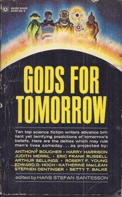 GODS FOR TOMORROW: Santesson, Hans Stefan