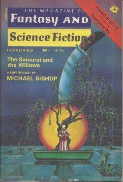 The Magazine of FANTASY AND SCIENCE FICTION: F&SF (Michael Bishop;