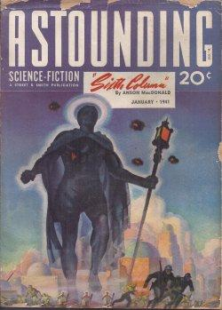 "ASTOUNDING Science Fiction: January, Jan. 1941 (""Sixth Column"" - Vt. ""The Day After ..."