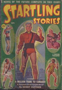 """STARTLING Stories: November, Nov. 1940 (""""A Million Years to Conquer""""): Startling (Henry ..."""