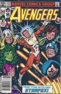 THE AVENGERS: June #232: The Avengers