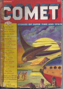 COMET: December, Dec. 1940: Comet (Robert Moore Williams; Miles J. Breuer; Manly Wade Wellman; P. ...