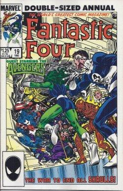 FANTASTIC FOUR Double-Sized Annual: #19 (1985)
