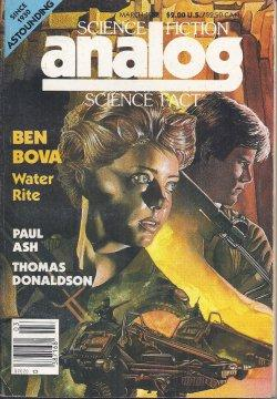 ANALOG Science Fiction/ Science Fact: March, Mar.: Analog (Ben Bova;