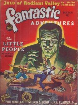 FANTASTIC ADVENTURES: March, Mar. 1940: Fantastic Adventures (Eando Binder; Orlin Tremaine; Nelson ...