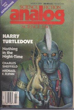 ANALOG Science Fiction/ Science Fact: March, Mar.: Analog (Harry Turtledove;