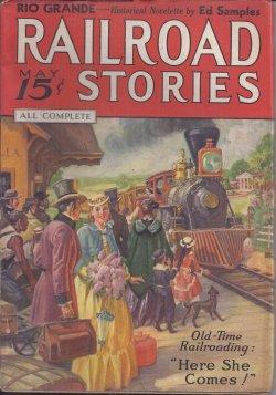 RAILROAD Stories: May 1936: Railroad Stories (Ed