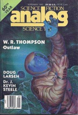 ANALOG Science Fiction/ Science Fact: September, Sept.: Analog (W. R.