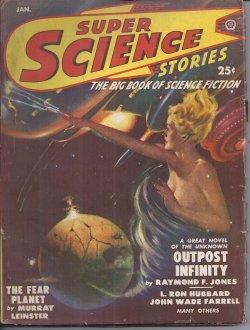 SUPER SCIENCE Stories: January, Jan. 1950: Super Science (Raymond F. Jones; Noel Loomis; Murray ...