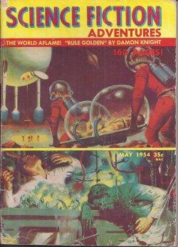 SCIENCE FICTION ADVENTURES: May 1954: Science Fiction Adventures