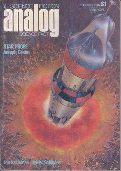 ANALOG Science Fiction/ Science Fact: October, Oct.: Analog (Joseph Green;
