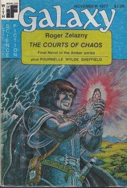 """GALAXY Science Fiction: November, Nov. 1977 (""""The: Galaxy (Roger Zelazny;"""