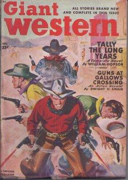 """GIANT WESTERN: August, Aug. 1949 (""""Law of: Giant Western (William"""