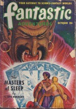 "FANTASTIC ADVENTURES: October, Oct. 1950 (""The Masters of Sleep""): Fantastic Adventures (..."