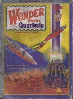WONDER Stories Quarterly: Summer 1932: Wonder Quarterly (John Scott Campbell; Frank A. Kelly; John ...