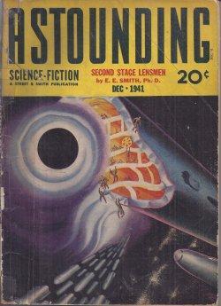 """ASTOUNDING Science Fiction: December, Dec. 1941 (""""Second: Astounding (E. E."""